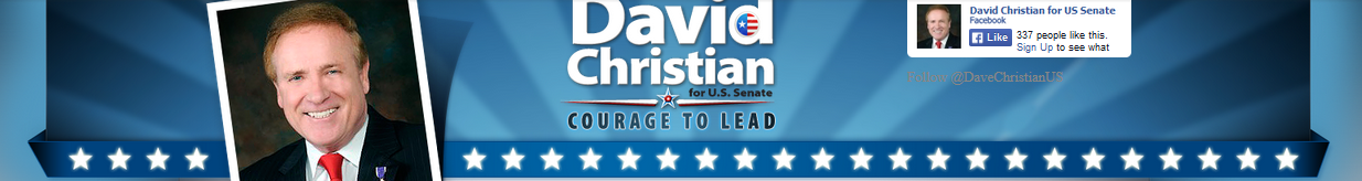 David Christian for U.S. Senate